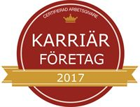 Ricoh Sverige utses till Karriärföretag 2017