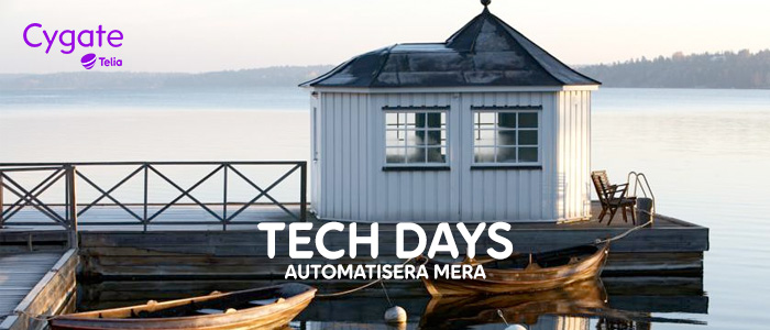 TECH DAYS – AUTOMATISERA MERA