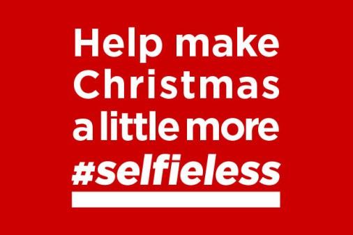 Canon och Röda Korsets önskelista till jul – färre selfies och fler goda gärningar