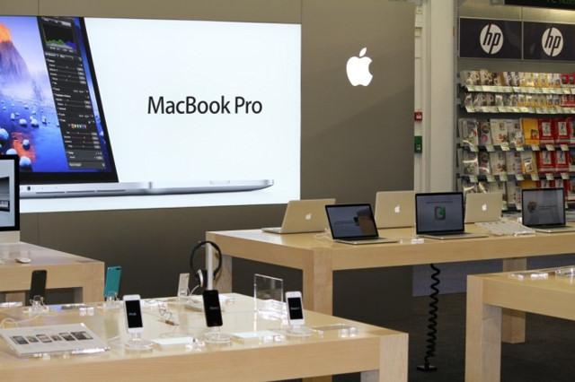 Elgiganten först med Apple-butik