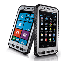 Panasonic Toughpad FZ-X1 och FZ-E1.