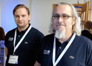 Peter Hedman och Adam Rydström på RTS.