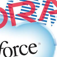 Salesforce lyfter in molnet på mjukvaruleverantörernas topplista