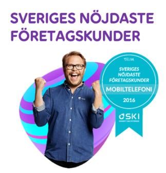 Telia har Sveriges nöjdaste företagskunder
