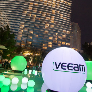 Supertillväxten hos Veeam fortsätter