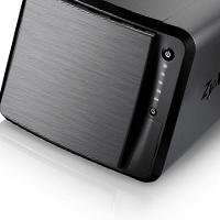 Zyxels första NAS med fyra diskar – för känsliga öron