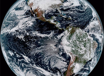 A new image of the Earth