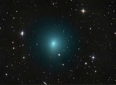 April Fools comet flyby