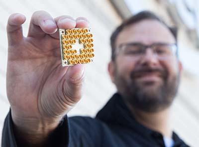 Quantum chip packs 17 qubits