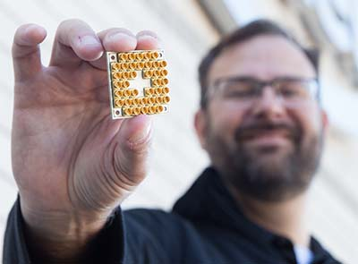 Quantum chip packs 17 qubits