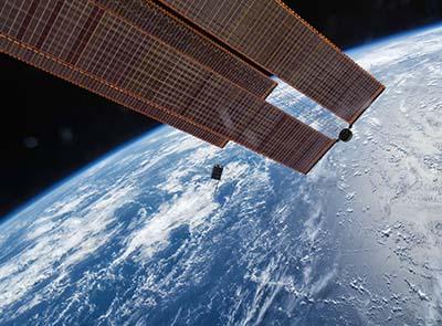 Tiny satellites to gather info