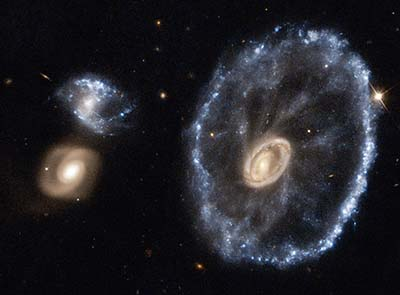 Galaxy after galactic collision