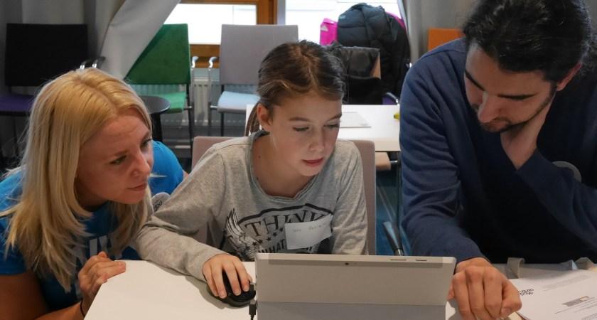 Kodcentrum och Microsoft samlade i helgen 50 tal barn på sitt första Barnhack