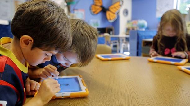 Barn utforskar digitala resurser utifrån egna syften