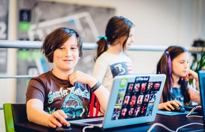 50 barn antagna till Coderdojo Summer Camp – för morgondagens digitala rockstars!