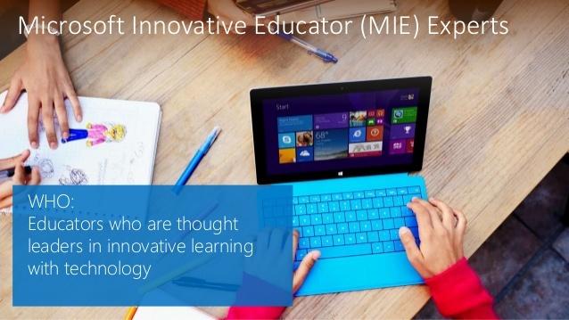 15 nya lärare utnämns till Microsoft Innovative Educator Experts