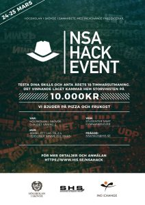 Högskolan i Skövde arrangerar NSA Hack Event 3