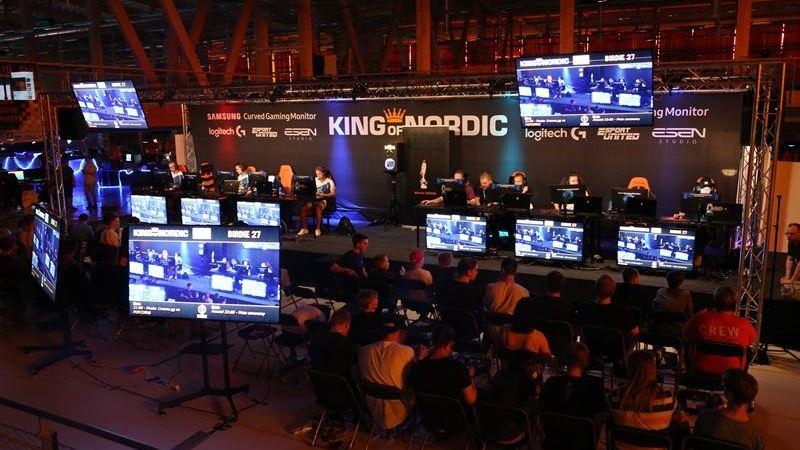 E-sportevent med några av Sveriges största e-sportprofiler på plats
