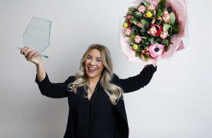 Årets influencer är Therese Lindgren, om studenterna får säga sitt. 3