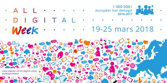 All Digital Week sprider kunskap om den digitala världen
