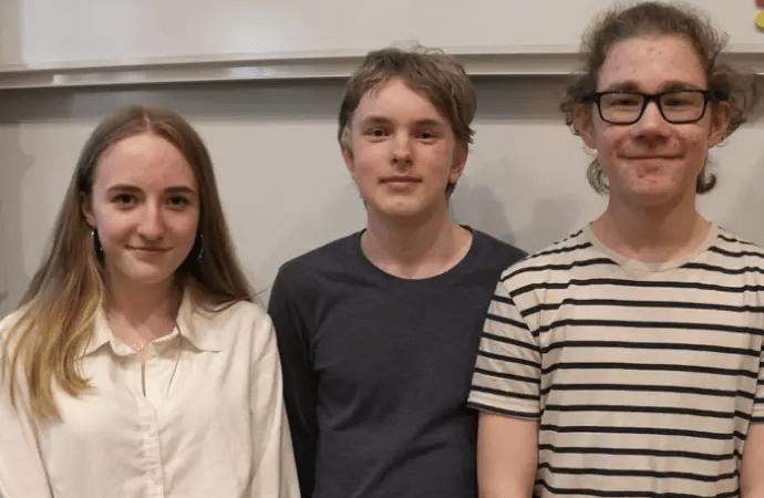 Klass 8D Minervaskolan segrare i Teknikåttans regionfinal