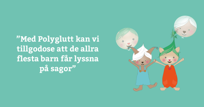 Tingsryds kommun värdesätter att få böcker upplästa på flera språk
