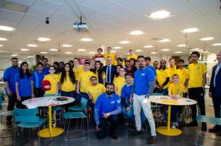 Ungdomar presenterade sina digitala lösningar på samhällsproblem 3