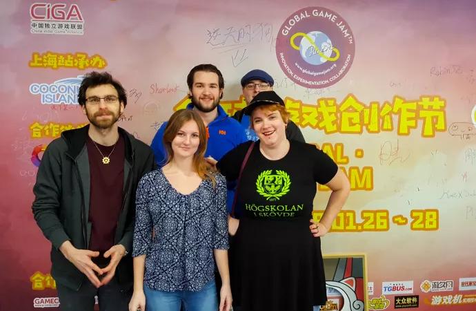 Dataspelsstudenter och forskare på export till Kina