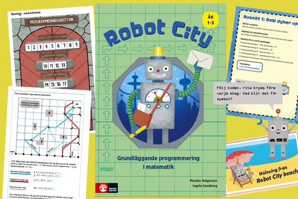Natur & Kultur lanserar Robot City