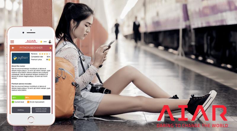 AIAR lierar sig med en av Asiens främsta blockkedje-gurus