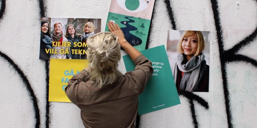 Teknikföretagen skapar mötesplats för tjejer som vill gå teknik på Sveriges största gymnasiemässa