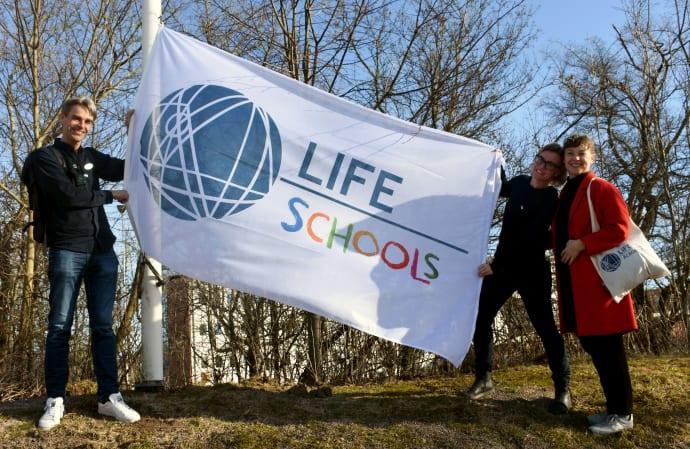Sundsta-Älvkullegymnasiet är Sveriges första LIFE School
