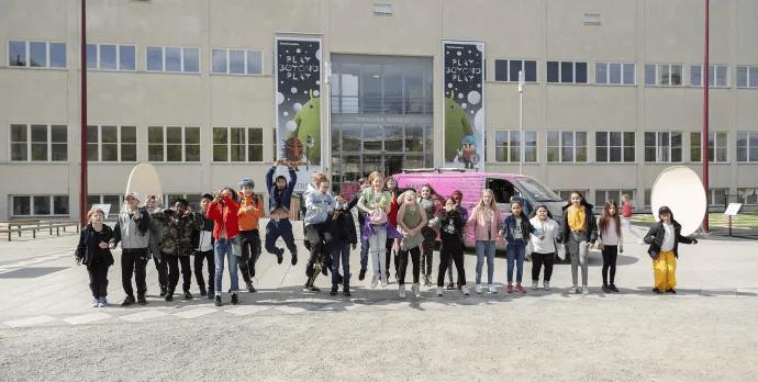 Tekniska museet flyttar ut lovverksamheten till Akalla, Tensta och Hjulsta i sommar