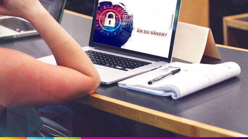 Skolungdomar och lärare får utbildning i säkerhet på nätet
