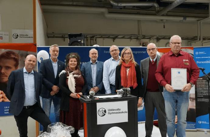 Uddevalla gymnasieskola får certifiering som Motorbranschcollege