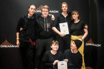 Skövdestudenter vann Sveriges finaste spelpris 1