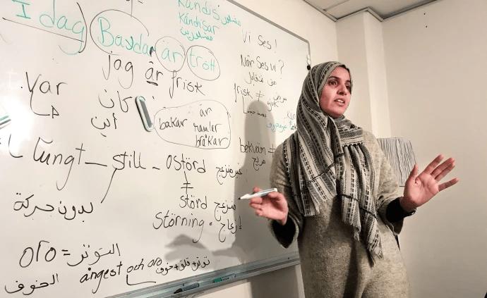 Unikt projekt inom folkbildningen ska ge fler en meningsfull asyltid