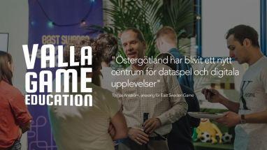 Ny spelutbildning kompletterar satsningen på spelbranschen i Östergötland 1