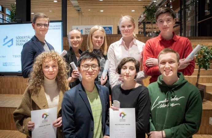 Åtta finalister utsedda till finalen av Unga Forskare