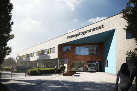 Kattegattgymnasiets nya skepnad – öppnar upp för samarbete och kontakt med omvärlden 1