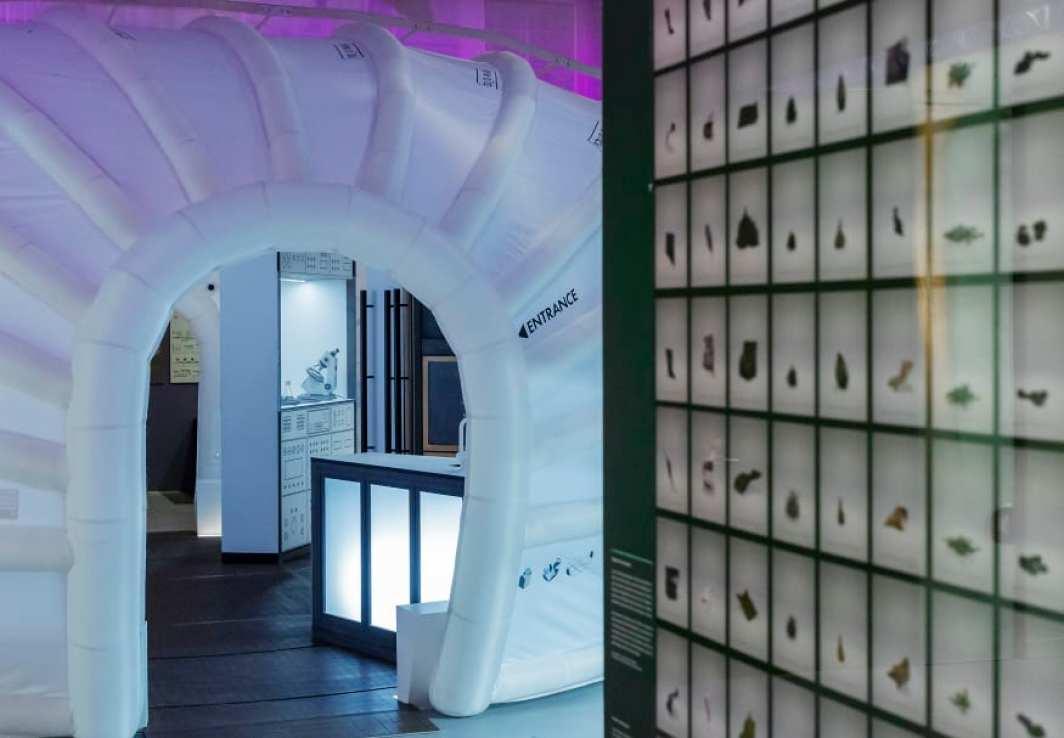 Tekniska öppnar – digital pressvisning av nya utställningarna Moving to Mars och Antropocen