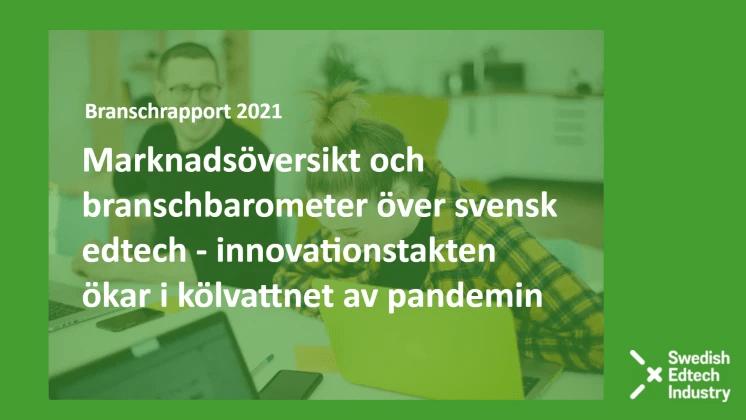 Kommande branschrapport: Tillväxt och ökad innovation för utbildningsteknologi