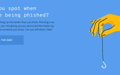 Can you spot when you're being phished?
