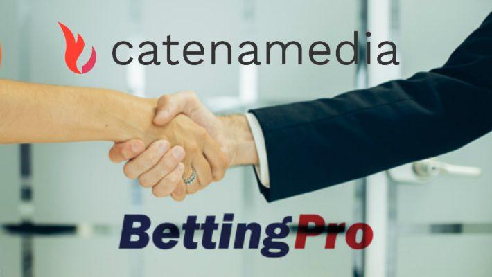 Catena Media förvärvar den prisbelönta sport-affiliaten Bettingpro.com