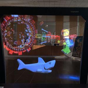 Realfiction och LEGO inleder testprojekt med DeepFrame, världens största mixed reality-skärm