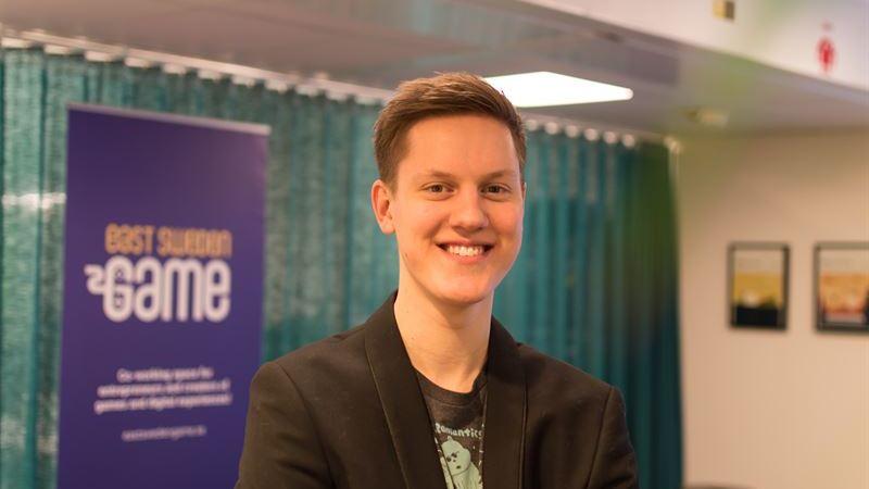 Dataspelsentreprenören Alexander Milton rekryteras till East Sweden Game