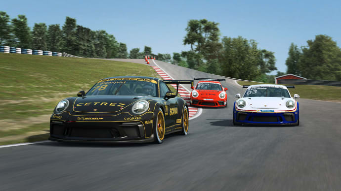 Premiär för Porsche Esports Carrera Cup Scandinavia!