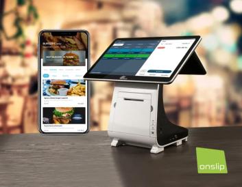 Onslip bjuder restauranger på takeaway-app och ny kassahårdvara för 50 msk 1