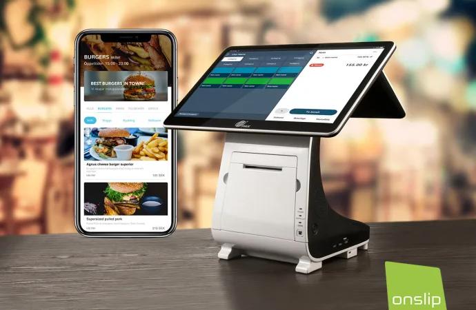 Onslip bjuder restauranger på takeaway-app och ny kassahårdvara för 50 msk