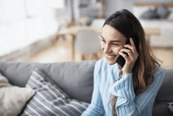 Trendbrott: Svenskarna pratar mer och längre i mobilen 1